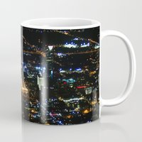 oklahoma Mugs featuring Oklahoma City by Nadege Torrentgeneros