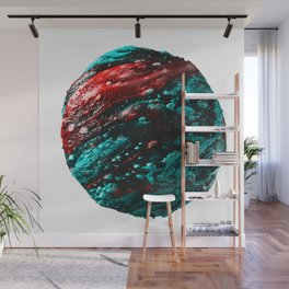 Abstract Planet v2 Wall Mural