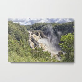 Magnificent Barron Falls Metal Print