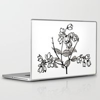 jasmine Laptop & iPad Skins featuring Jasmine by Nadia Heart