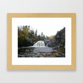 Kap Falls Framed Art Print