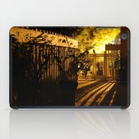 gothic iPad Cases featuring Gothic Gate by lightpainter