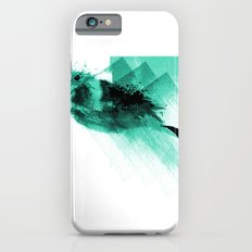 Splatter Bird Blue Slim Case iPhone 6s