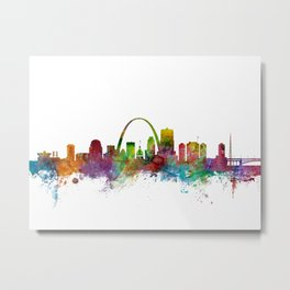 St Louis Missouri Skyline Metal Print