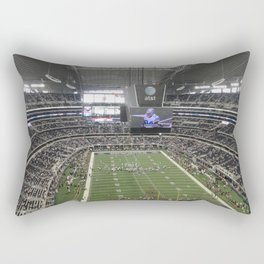 Cowboys Stadium Rectangular Pillow