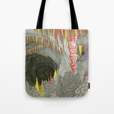 Color Cave Tote Bag