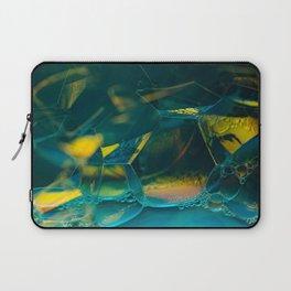 Aqua Bubbles Laptop Sleeve