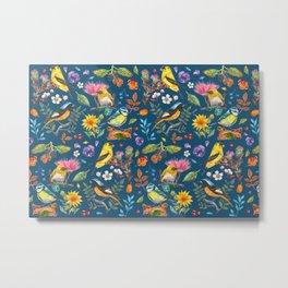 Birds Nature - BBG Metal Print