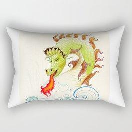 A happy dragon Rectangular Pillow