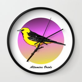 ALTAMIRA ORIOLE Wall Clock