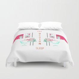 Eat Design Sleep Rose Gold Duvet Cover
