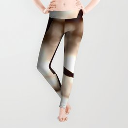 Wooden Puppet Sepia Leggings