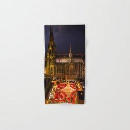 Cologne Christmas Market Hand & Bath Towel