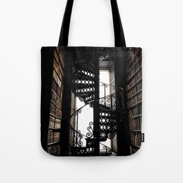 Trinity College Library Spiral Staircase Tote Bag