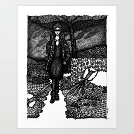 my so-called life Art Print