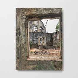 wreckage Metal Print