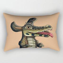 The Happy Caihund Rectangular Pillow