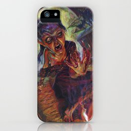 The Wolf Woman iPhone Case