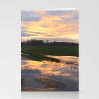 mirror Stationery Cards featuring Mirror by friz sala