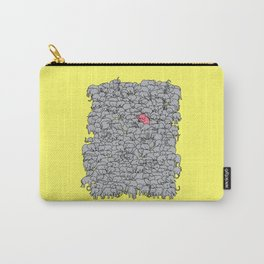 Stand Out & Be Herd Carry-All Pouch