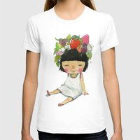 spring T-shirts featuring Spring  by Young Ju