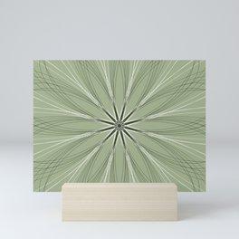 Gentle Geometric Flower - c13437.0 Mini Art Print
