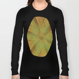 Fall Blossom Fractal Long Sleeve T-shirt