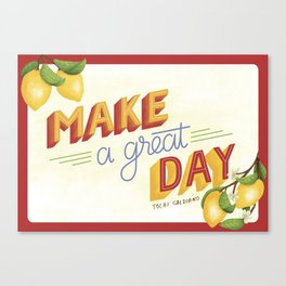 A Great Day Canvas Print