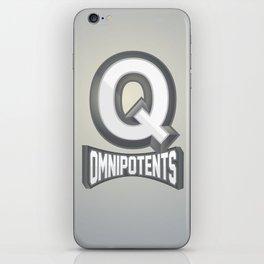 Q Omnipotents iPhone Skin