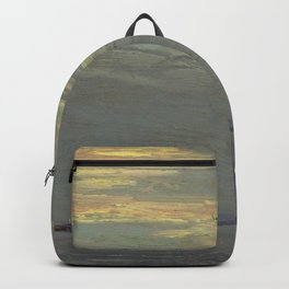 Tom Thomson Giant's Tomb, Georgian Bay 1914 Canadian Landscape Artist Backpack