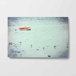 The Lonely Inner Tube Metal Print