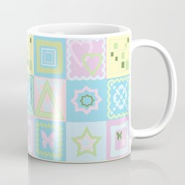 Delicate shades of baby pattern. Coffee Mug
