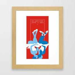 Calm06B Framed Art Print
