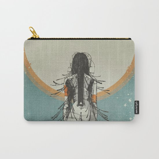 Nymph: Staring at the Sun (Ext) Carry-All Pouch