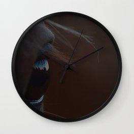 Horse Eye Wall Clock