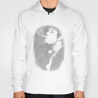 tom waits Hoodies featuring Tom Waits by EclipseLio