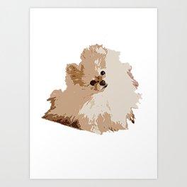 Pompom Art Print