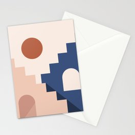 Morocco Abstract 2/3 Stationery Cards