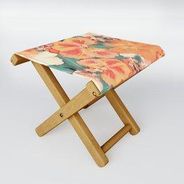 Aloha Orange Sherbet Folding Stool