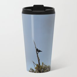 Perched Before the Storm Travel Mug