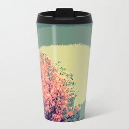 Mod Trees. Pink Purple Teal Travel Mug