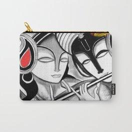 Radha-Krishna Carry-All Pouch