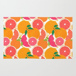 Grapefruit Harvest Rug