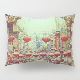 Down with Chinatown Pillow Sham