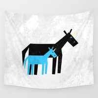 dad Wall Tapestries featuring Thanks Dad by That's So Unicorny