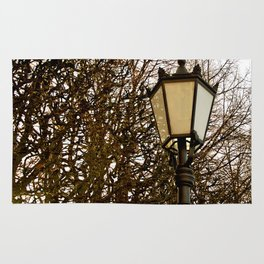Lamppost Melodies  Rug
