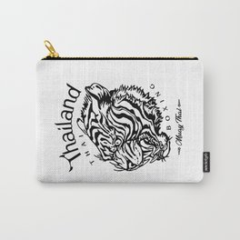 Sak Yant Tiger Tattoo Carry-All Pouch