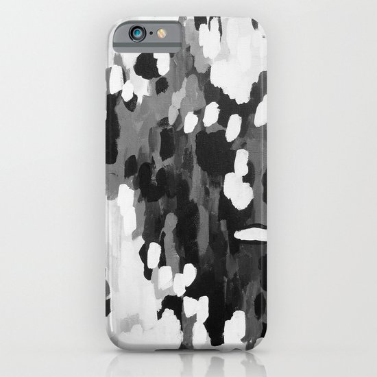 No. 68 Modern Abstract Painting iPhone & iPod Case
