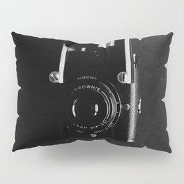 Black and white vintage camera photograph Pillow Sham