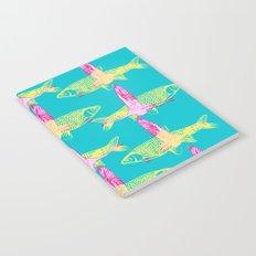 Flamingos and Fish Notebook
